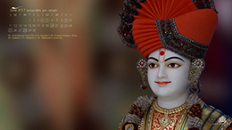 Smvs Swaminarayan Calendar Wallpaper June 2017 Thumb