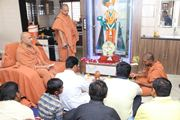 HH Swamishree Mahapooja At Himmatnagar