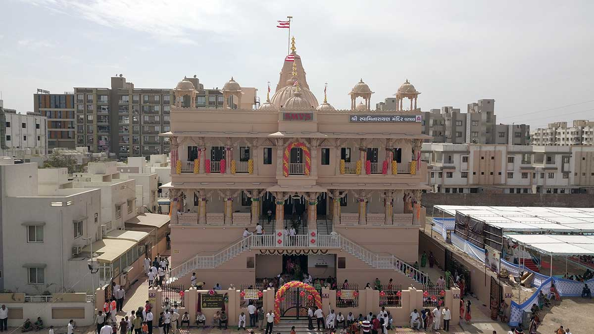 SMVS Swaminarayan Madir Murti Pratistha Utsav - Vastral