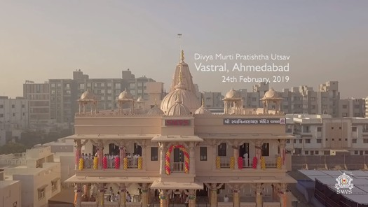 SMVS Swaminarayan Mandir Murti Pratishtha Utsav - Vastral