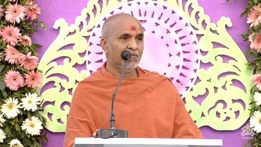 HH Swamishri Divyavani on SMVS Hospital Lokarpan Samaroh