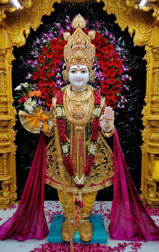SMVS Swaminarayan Mandir - Ghanshyamnagar