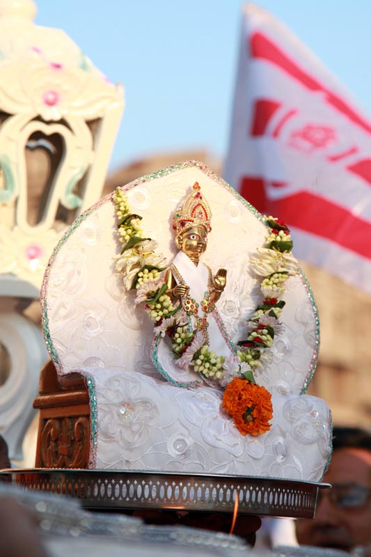 SMVS Swaminarayan Mandir Bhavnagar - Shilanyas Samaroh