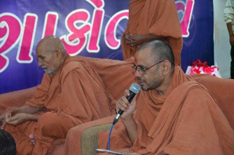 SMVS Swaminarayan Mandir Himatnagar - Shilanyas Samaroh