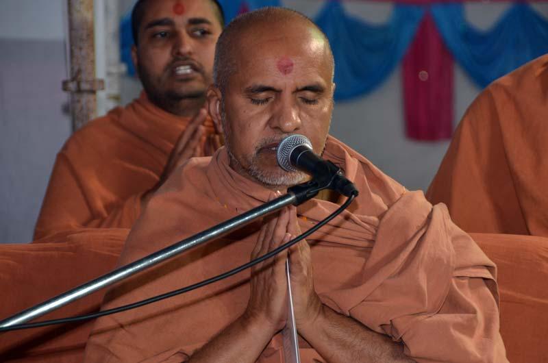 SMVS Swaminarayan Mandir Unja - Shilanyas Samaroh