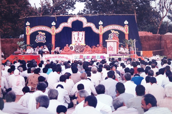 Swaminarayan Dham Bhoomi pujan