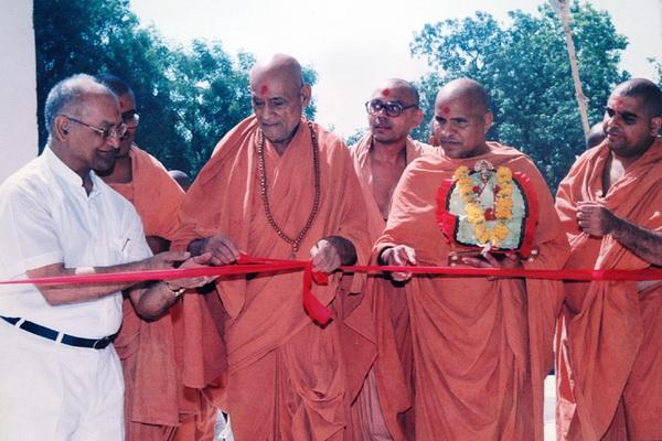 Swaminarayan Dham Gurukul Construction & Inauguration