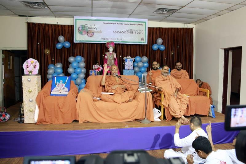 North America Satsang Shibir 2015 - Charry Hill, NJ, USA