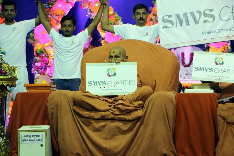SMVS Charities Launching
