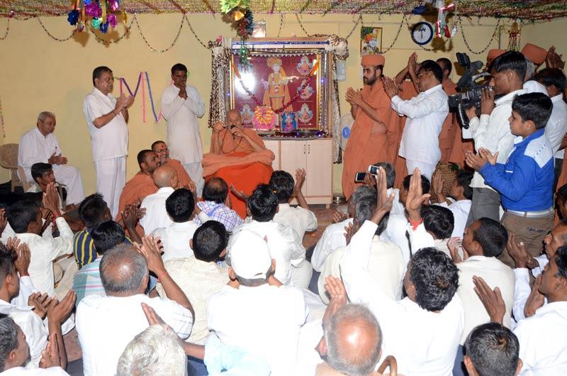SMVS Swaminarayan Mandir Murti Pratistha - Bhadrala