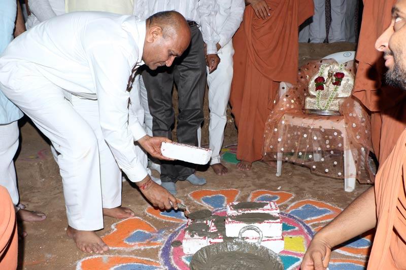 SMVS Swaminarayan Mandir Bhuj - Shilanyas Samaroh