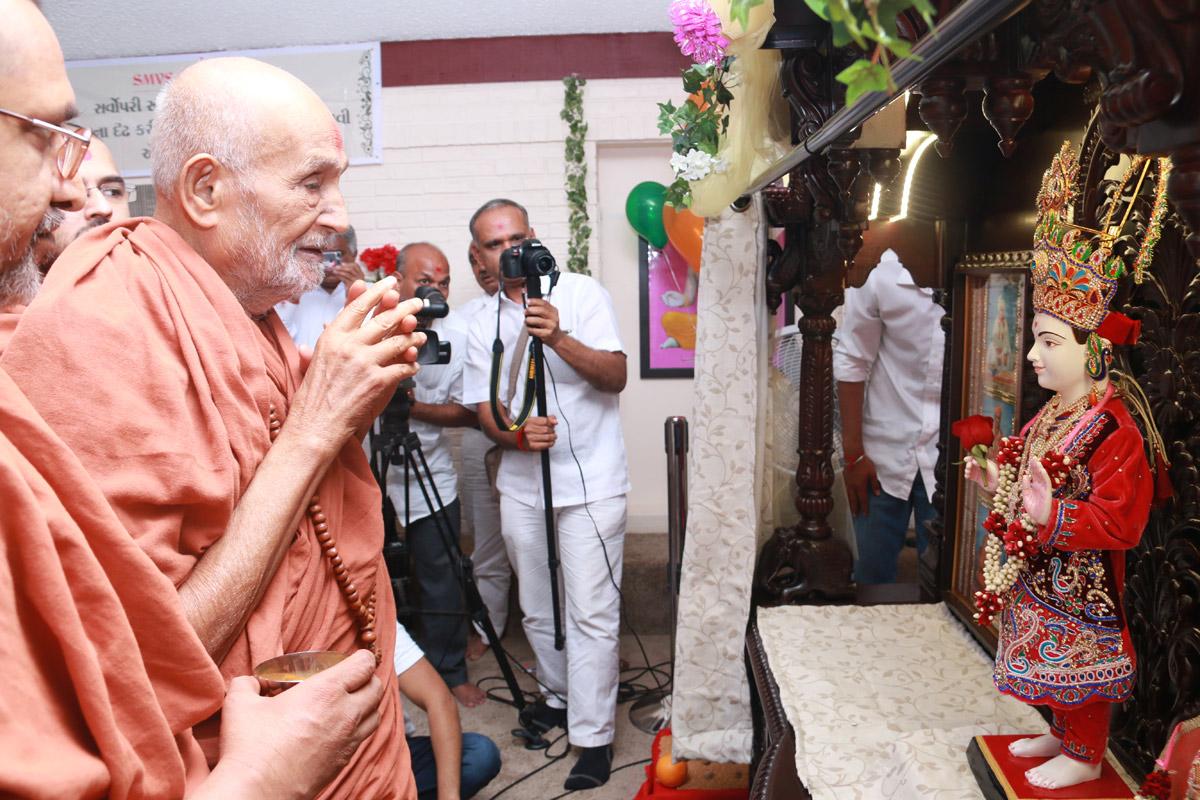 SMVS Swaminarayan Mandir Murti Pratistha Utsav- Chicago