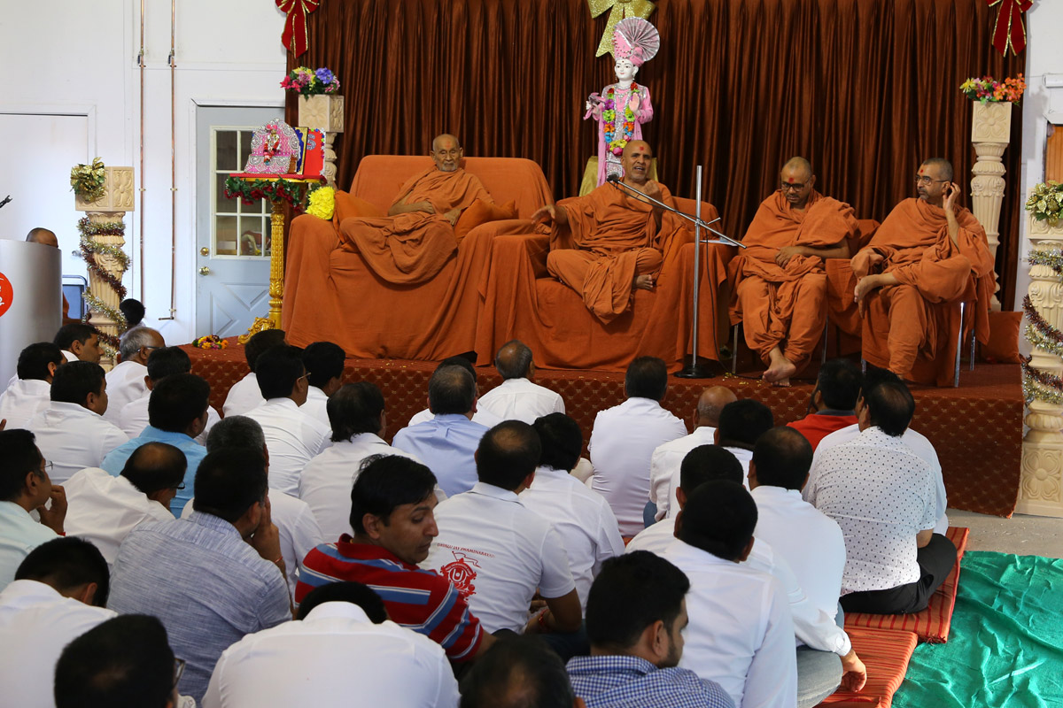 Satsang Center Opening Ceremony - Bostan-USA