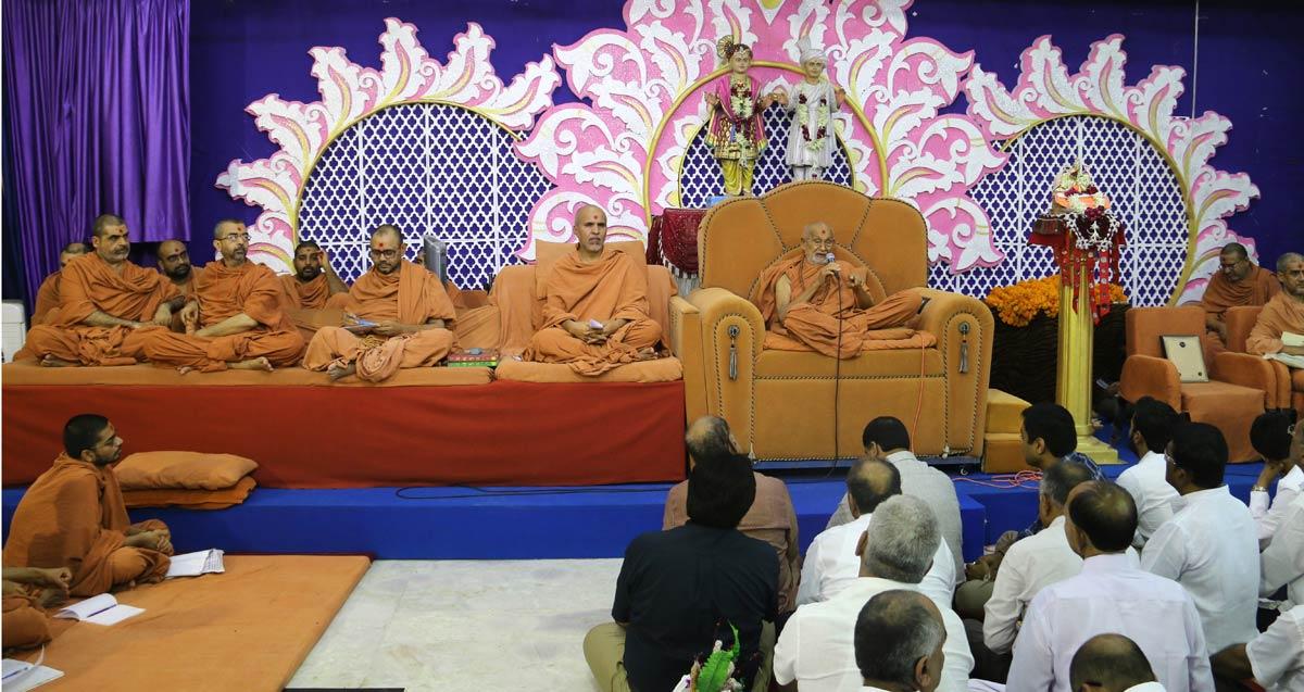 Satellite Murti Pratistha Ashirwad Sabha & Poonam Samaiyo
