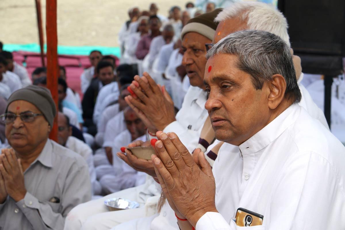 SMVS Swaminarayan Mandir Vastral - Shilanyas Samaroh