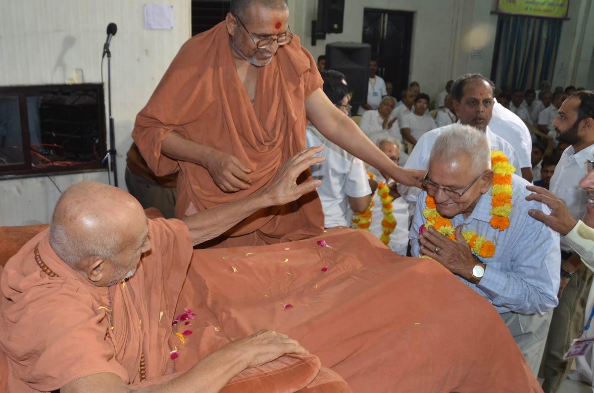 HDH Bapji Patotsav & Shakotsav Sabha At Baroda.