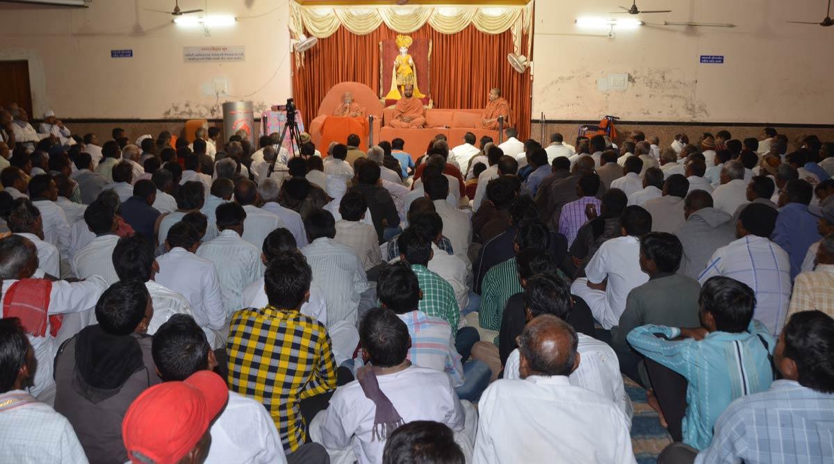 HDH Bapji Samaiya Sabha At Godhar.