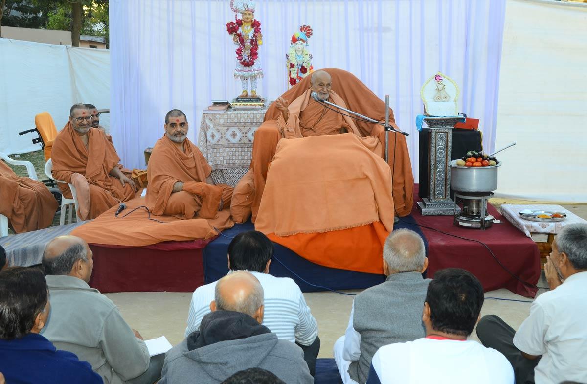 HDH Bapji Shakotsav Sabha At Nadiad