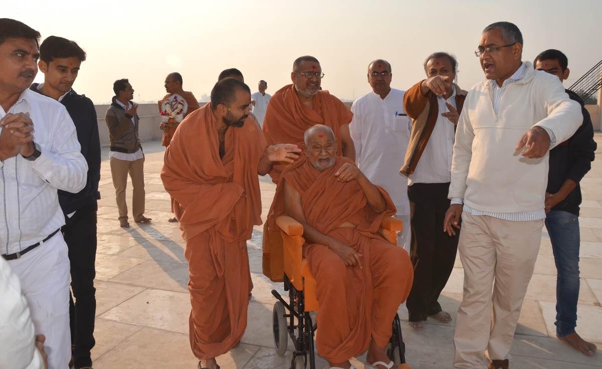 HDH Bapji Mandir Visit At Bhavnagar