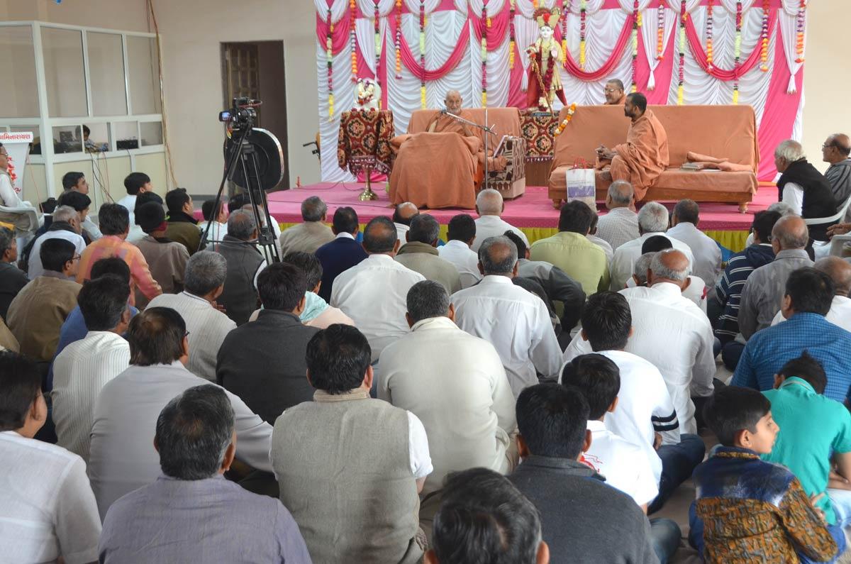 HDH Bapji Sabha At Bhavnagar