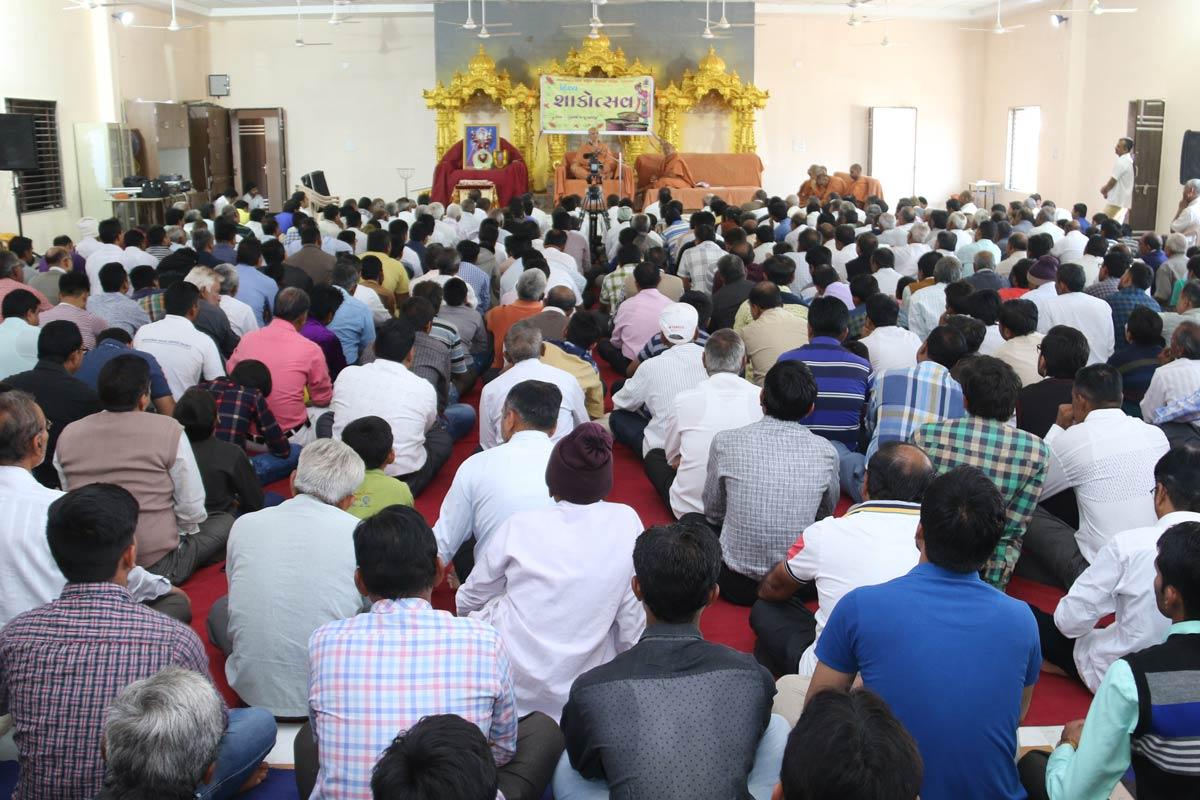 HH Swamishree Shakotsav Sabha At Himmatnagar