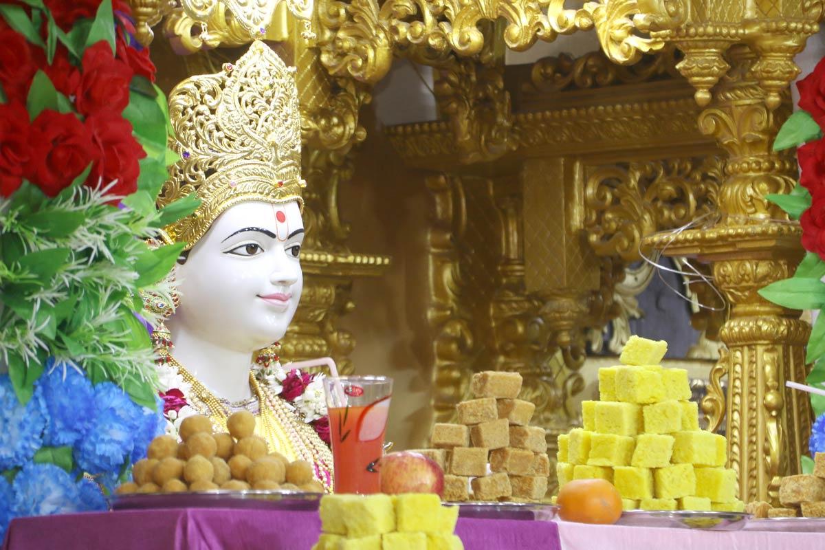 HH Swamishree Patotsav Sabha At Godhara