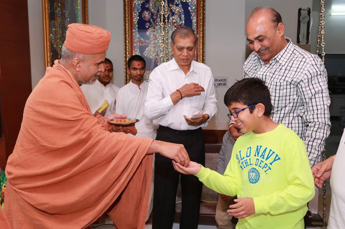 HH Swamishree At Zoliseva