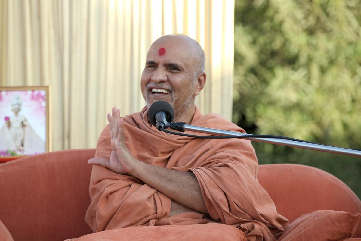 HH Swamishree Karyalay Day Sabha At Gandhinagar.