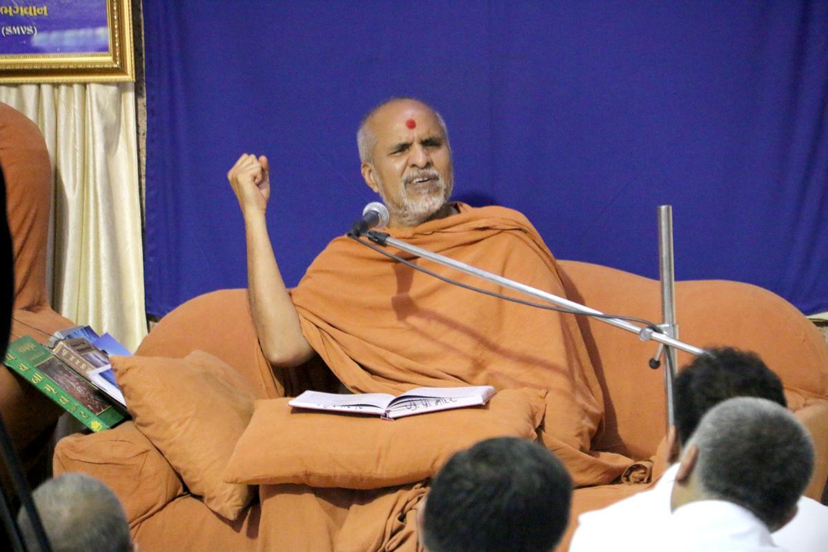 HH Swamishree Sankalp Sabha At Swaminarayan Dham-Gandhinagar.
