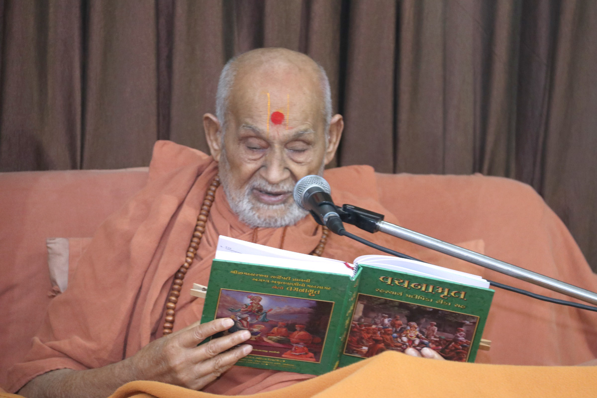 Aacharya(Master) of vachnamrut.