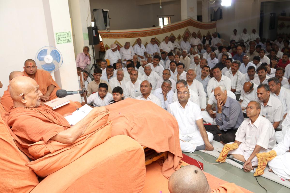 HDH Bapji Amas Samaiyo At Surendranagar