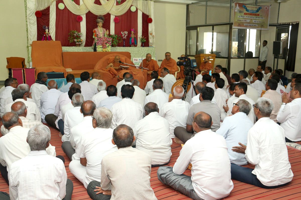 HDH Bapji Pratah Sabha At Naroda