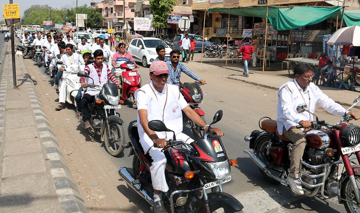 HDH Bapji Vicharan - 1st Patotsav - Bayad,Himmatnagar
