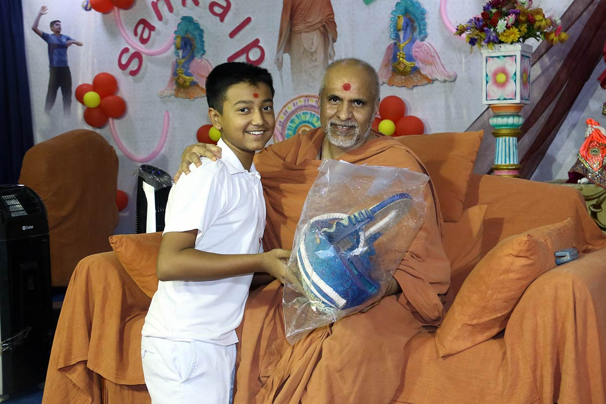 HH Swamishree Vicharan - SBS Shibir,Swaminarayan Dham,Gandhinagar