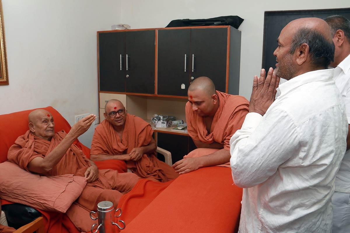 HDH Bapji Vicharan - Surendranagar