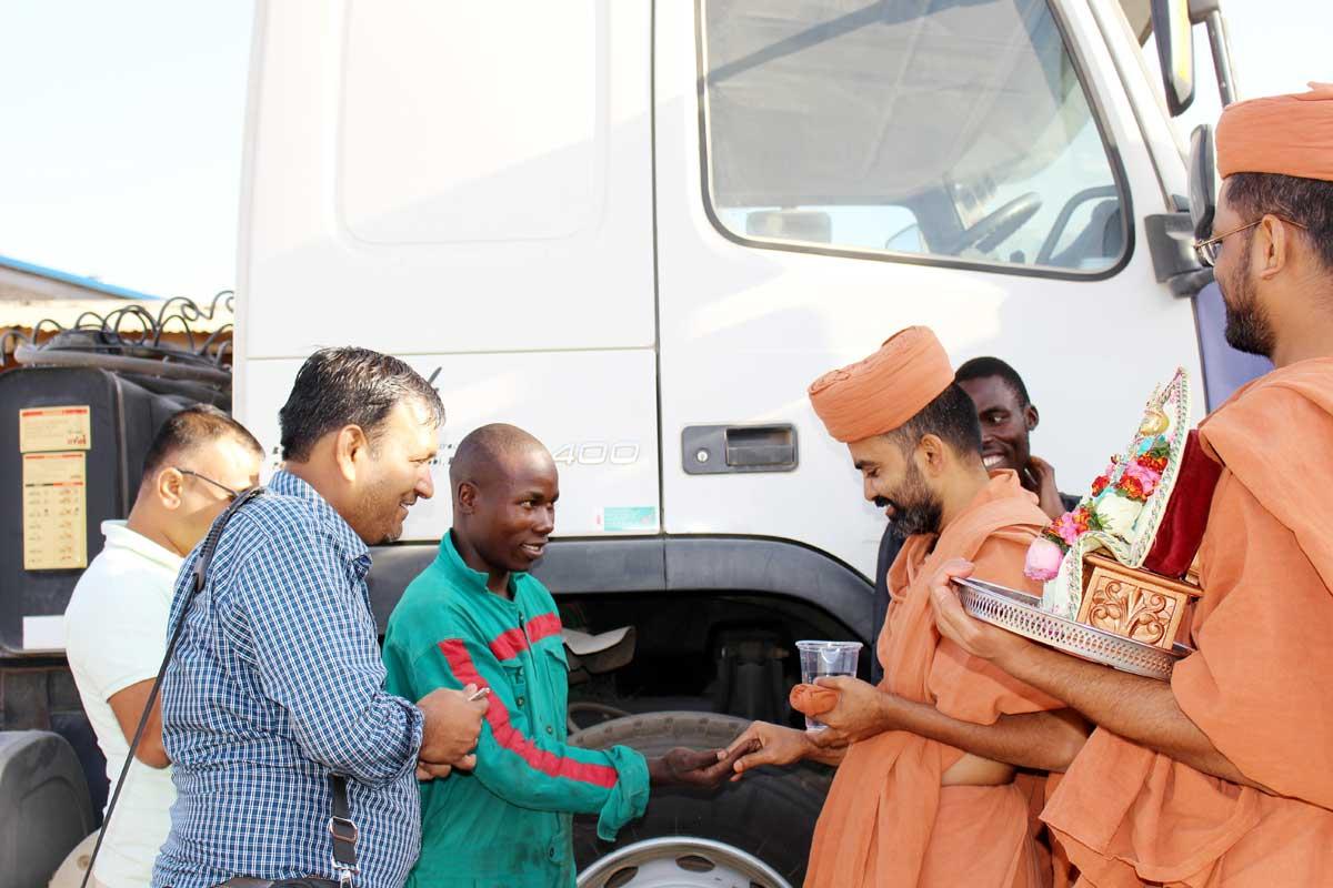 Saints Africa Vicharan  - 2018