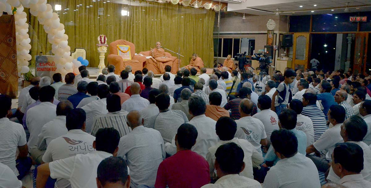 HH Swamishri Vicharan - April 2019 (1st April to 15th April)