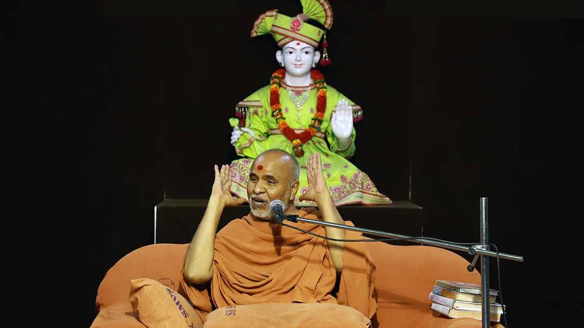 HH Swamishri Vicharan - April 2019 (16th April to 30th April)
