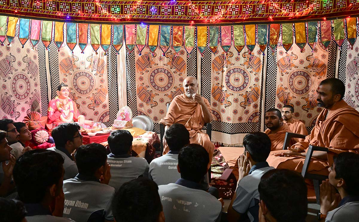 HH Swamishri Vicharan - February 2019 (16th February to 30th February)