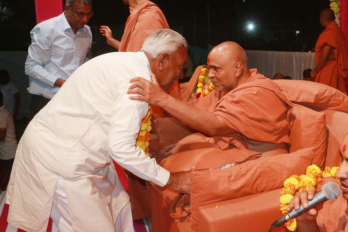 HH Swamishri Vicharan - March 2019 (1st to 15th March)
