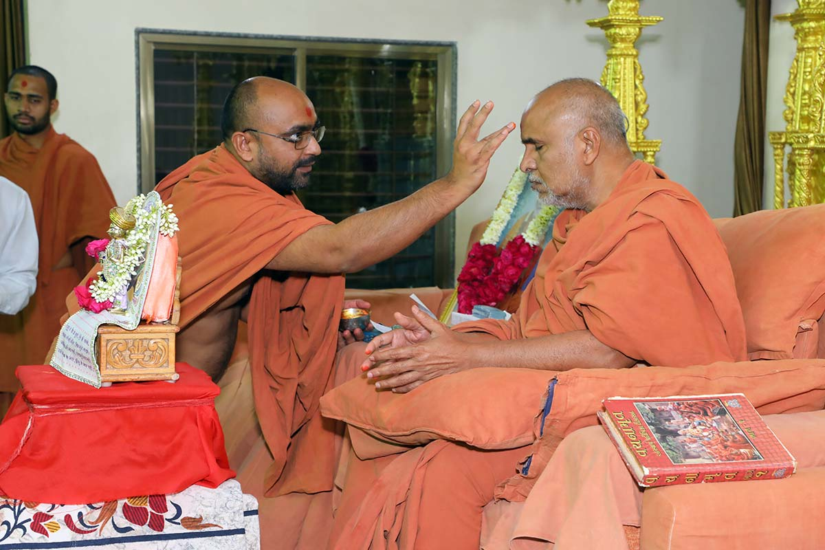 HH Swamishri Vicharan - March 2019 (16th to 31st March)