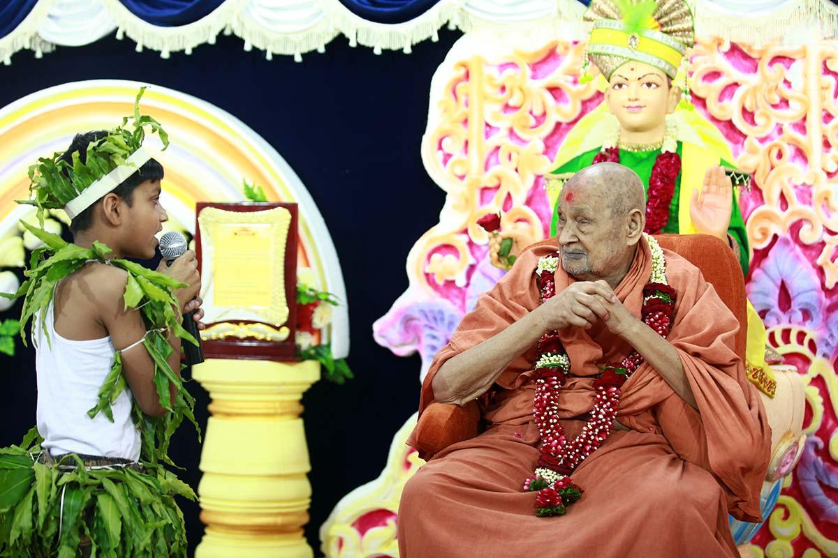 HDH Bapji Vicharan - April 2019