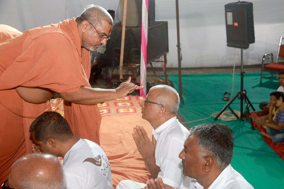 SMVS Swaminarayan Mandir Halol - Shilanyas Samaroh