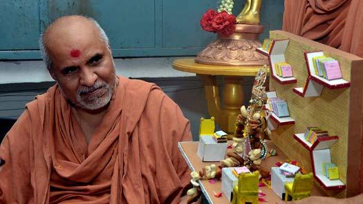 HH Swamishri Vicharan - June 2019 (16th June to 30th June)