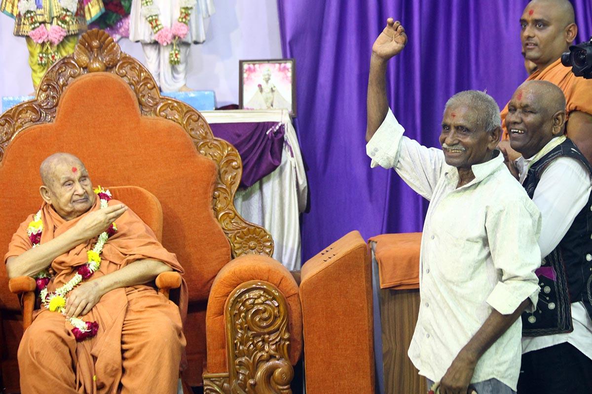 HDH Bapji Vicharan - June 2019 (25th June to 30th June)