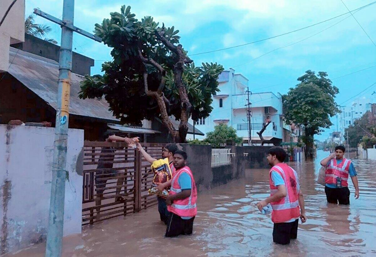 Flood Relief Vadodara by SMVS Charities