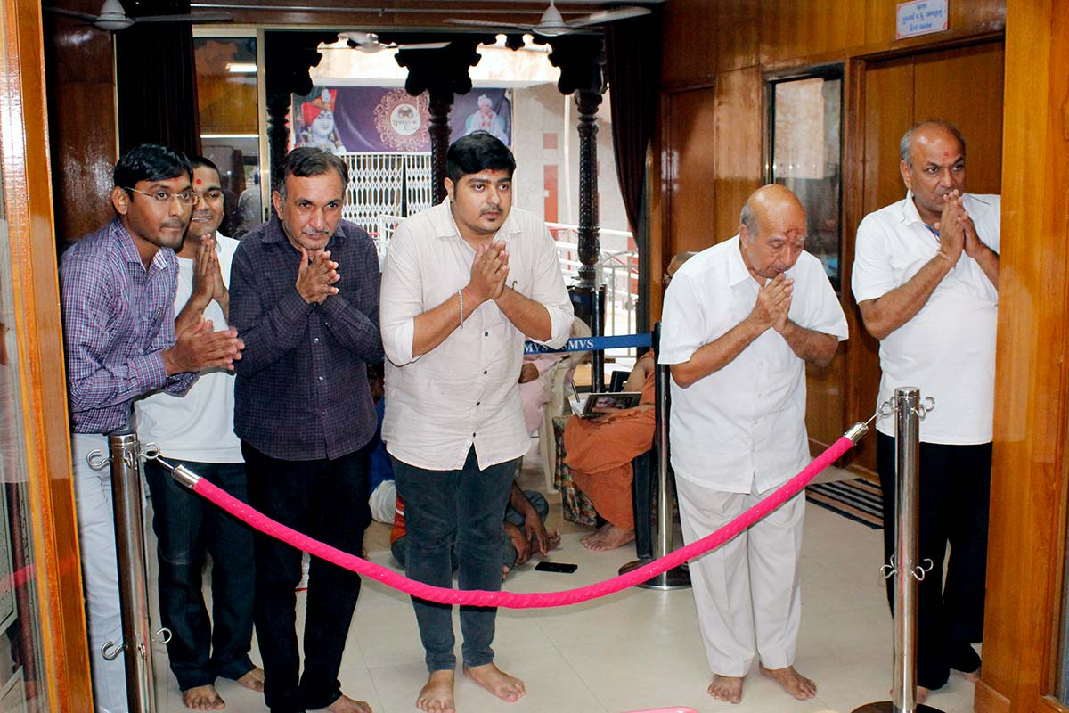 HDH Bapji Vicharan - August 2019 (1st August to 15th August)