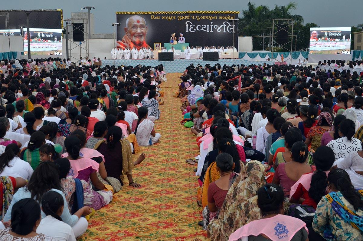 HDH Bapji Divyanjali Sabha - Ahmedabad
