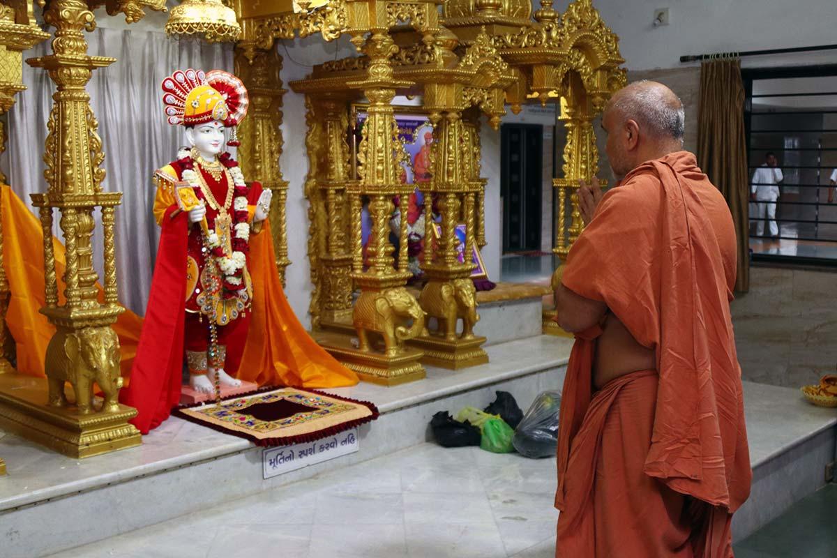 HDH Swamishri Vicharan - September 2019 (1st September to 15th September)