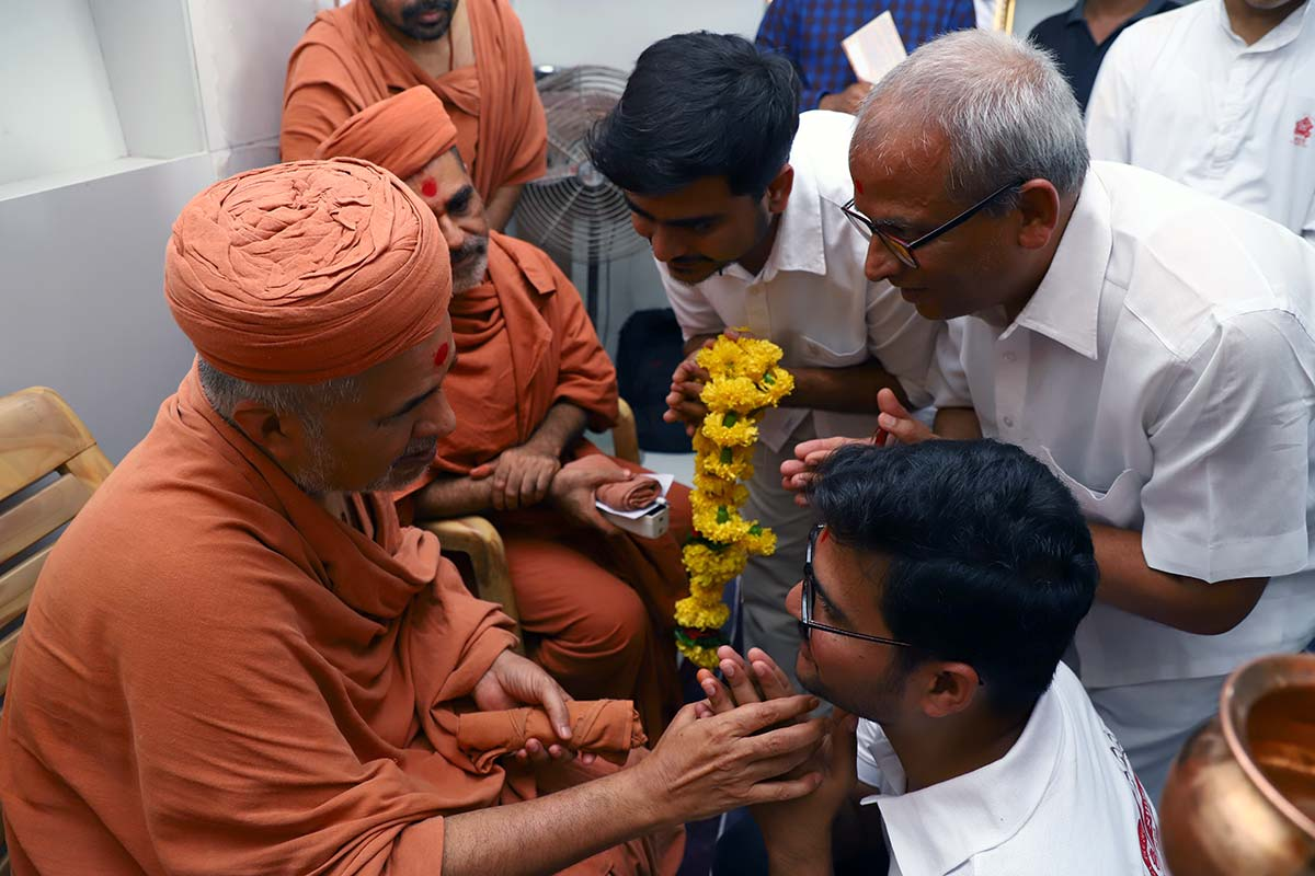 HDH Swamishri Padhramni - Vadodara